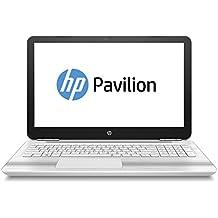 """HP Pavilion 15-au027ng Portatile 2.1GHz 4405U 15.6"""" 1920 x 1080Pixel Nero, Argento [Germania]"""