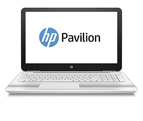 HP Pavilion 15-au027ng (P3U15EA) 39,6 cm (15,6 Zoll/Full-HD) Notebook (8GB DDR4 RAM Arbeitspeicher, 1TB HDD Festplatte, Intel HD Grafikkarte, Windows 10 Home 64 Betriebssystem)