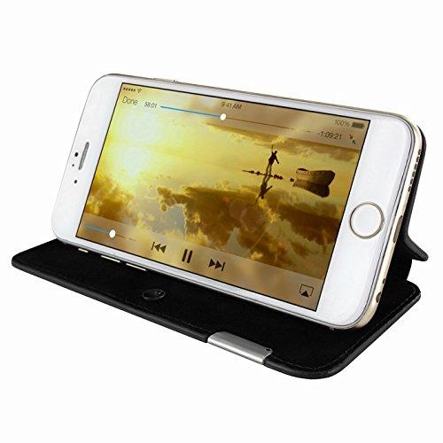 Piel Frama 677SWB PIELFRAMA 677SWB Swaro Case für Apple iPhone 6 in blau Negro Fuerte
