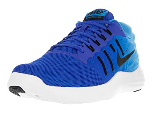 Nike Lunarstelos, Chaussures de Running Entrainement Homme Azul (Hyper Cobalt / Black-Blue Glow-White)