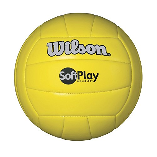 WILSON Soft Play Outdoor Volleyball, gelb