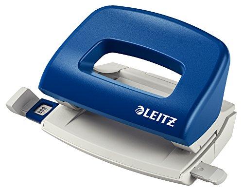 Leitz 5058-35 Locher 0,8mm ohne Schiene blau
