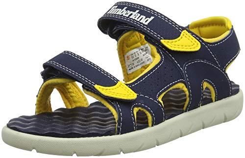 Timberland Kinder Sandalen (Timberland Unisex-Kinder Perkins Row-2-Strap Sandalen, Blau (Black Iris Xn0), 31 EU)