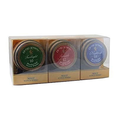 Old St. Andrews Coopers Choice 3 Barrel Miniature Whisky Gift Pack by Old St. Andrews