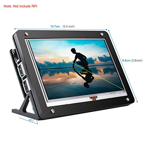 kuman 5 inch Resistive Touch Screen with