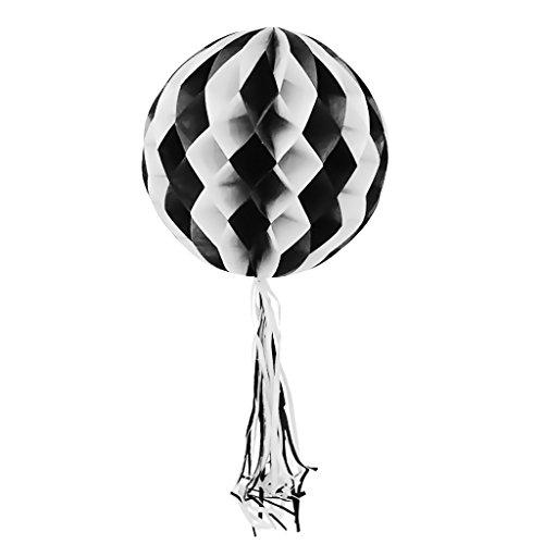 Nankod Papierwaben-Laterne-kreative Dekorations-hängende Verzierung Halloween-Versorgungsmaterialien Für Innenpartei Im ()