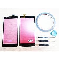 Per OnePlus One 1+ A0001Vetro per schermo touchscreen + Strumenti e adesivo nastro