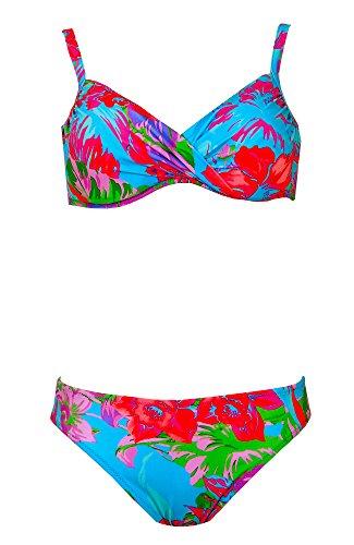 Tessy Beachwear Reifen Bikini bunt Bunt