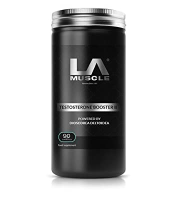 LA Muscle Testosterone Booster II - The world's only Testosterone Booster powered by Dioscorea Deltoidea from LA Muscle