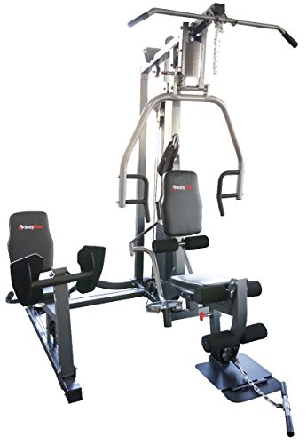 Bodymax Bi-Angular Trainer Gym with Leg Press - Silver