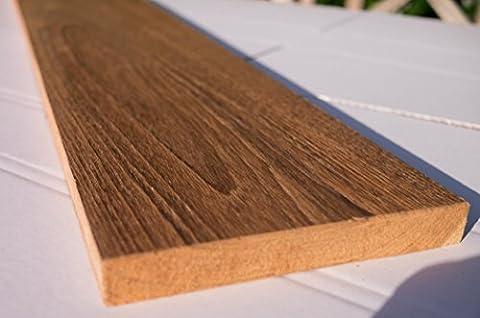 TECK MASSIF Planche en bois 20mm javateak une qualité parfaite gehobelt 115x 18x 2cm