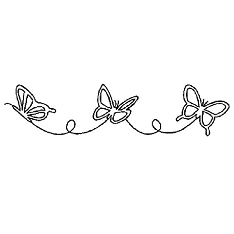 Large Butterfly Border Quilting Stencil by Quilting Creations