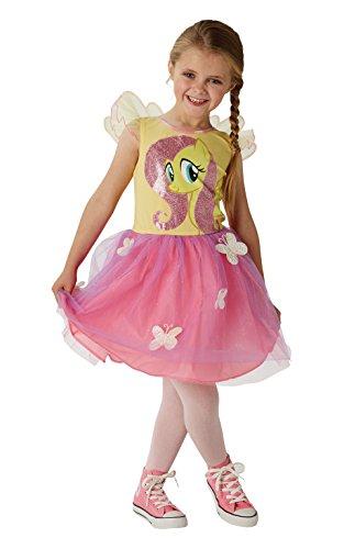 Kinder Fluttershy Kostüm Für (Fluttershy - Mein kleines Pony - Kinder Kostüm - Medium - 116cm - Alter)