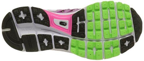Nike Wmns Zoom Vomero 9, Scarpe sportive, Donna Rosa (Rose/Vert/Blanc/Noir)