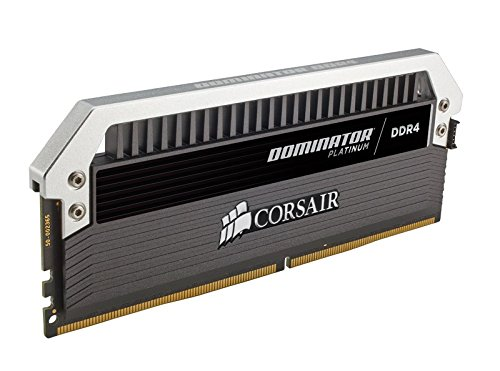 Compare Prices for Corsair CMD32GX4M4B3466C16 Dominator Platinum DDR4 32 GB (4 x 8 GB ) 3466 MHz C16 XMP 2.0 Enthusiast Desktop Memory Kit with Dominator Airflow LED Fan Kit Reviews