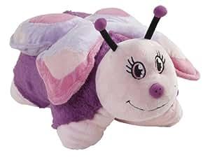 mookie pillow pets papillon rose peluche oreiller import royaume uni jeux et. Black Bedroom Furniture Sets. Home Design Ideas