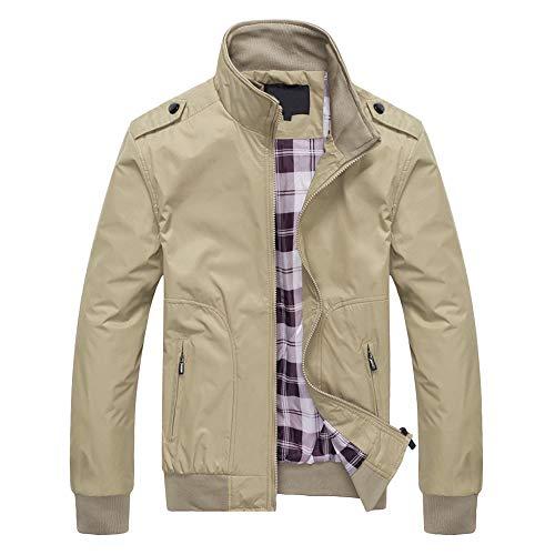 (JiaMeng Herbst Winter Jacken Windjacke Zipper Mäntel Outwear Übergangsjacke)