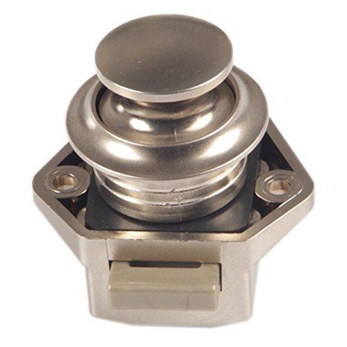 Easy Go Shopping Keyless Bürsten Sie Chrome Moderne Latch-Verschluss mit Druckknopf für Wohnmobile und Boote