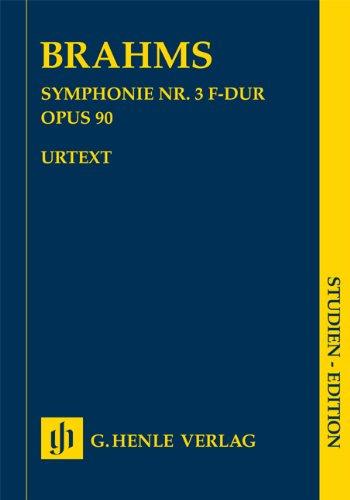 Symphonie N  3 en Fa Majeur Op. 90
