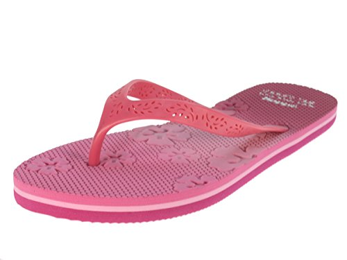 Beppi Sandalen Strandschuhe Zehentrenner Badeschuhe Schwimmbadschuhe Pink