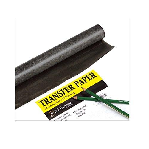 Richeson - Durchschlagpapier - Graphitpapier - 61 cm breit - 7,3 Meter Rolle