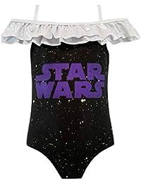STAR WARS Bañador para Niñas La Guerra de Las Galaxias