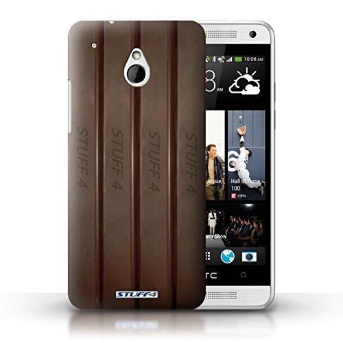 Kobalt® Imprimé Etui / Coque pour HTC One/1 Mini / Blocs Dairy Milk/Dalle conception / Série Chocolat Doigts/Sticks