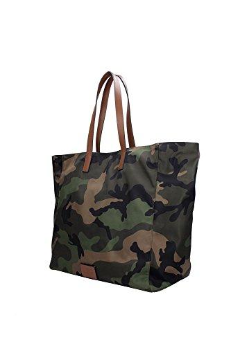 HYR00384ANY302Y20 Valentino Garavani Sacs de shopping Homme Tissu Vert Vert