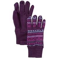 PUMA Akutan Gloves - Guantes morado black-sparkling grape-persian jewel Talla:medium