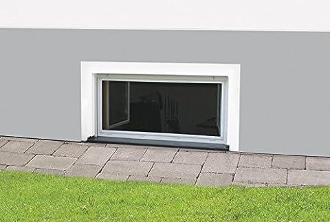 Ungezieferschutz Nagerschutz Insektenschutzfenster 'Master' 60 x 100 cm weiß