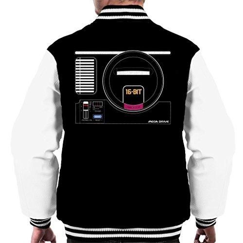 Sega Mega Drive Gaming Console Men's Varsity Jacket