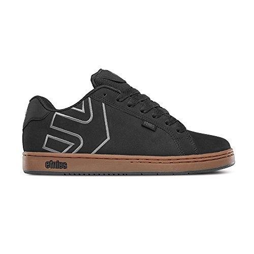Etnies Herren Fader Skateboardschuhe Black (558 Black/Charcoal/Gum)