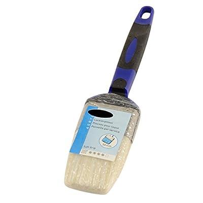 20x Lackpinsel in Profi Qualität je 50mm Acryl Flachpinsel Soft Griff Malerpinsel Lackierer Pinsel Lack