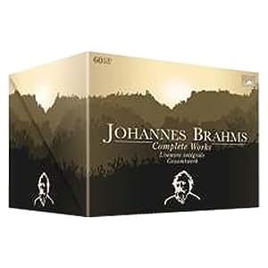 L'Oeuvre Intégrale de Brahms (coffret 60 CD)