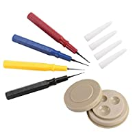 UIYU Small Watch Oiler Set, Professional Watch DIY Repair Tool with With Oil Cup Pen Needle for Watchmakers - Different Size for All Watches and Pocket Watches