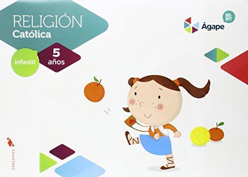 Religión Ágape-Berit 5 años - 9788414004654