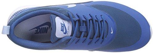Nike Air Max Thea, Sneakers Basses femme Bleu - (Brigade Blue/Porpoise-White 410)