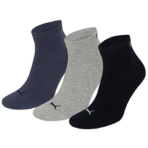 Unisex Quarters Socken Sportsocken 6er Pack Test