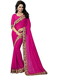 IndoPrimo Women's Clothing Saree New Collection Party Wear Designer Saree With Blouse Piece