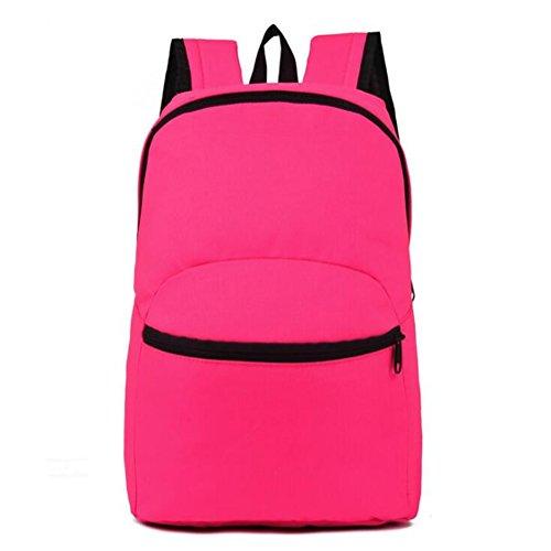 Wmshpeds Outdoor borsa a tracolla moda viaggi di piacere nello zaino di uomini e donne ultra - luce zaino sportivo coreano studente di scuola superiore in borsa D