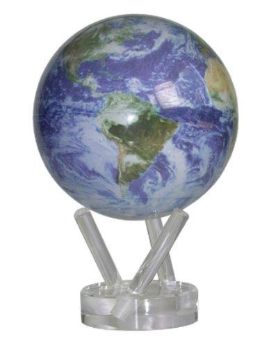 MagicFloater FU1101 MOVA Globe Motion within: High-Tech Globus der Spitzenklasse. Permanent geräuschlos rotierender Globus. Energiezufuhr mittels Erdmagnetfeld und Tageslicht oder Kunstlicht. Keine Batterie, keine Stromversorgung!