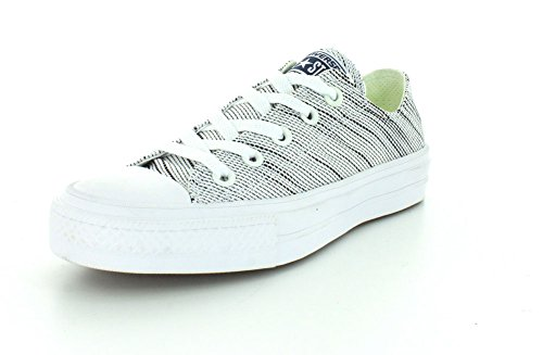 Converse Ct Ii Ox, Baskets Basses Homme Weiß