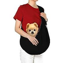 hanwey Perro Sling Cachorro Sling Bolsa para Perros pequeños Cachorro Gatos Mascotas Animales hasta 10 lbs