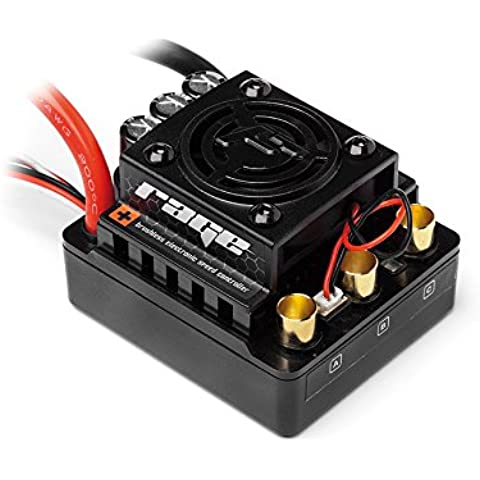 HPI Racing 101712 Flux Rage 80 A Brushless ESC, 1/8 Escala