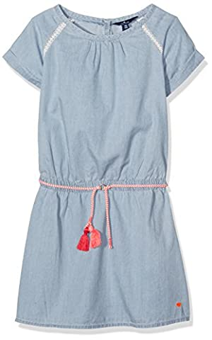 TOM TAILOR Kids Mädchen Kleid Light Denim Dress, Blau (Original 1000), 152