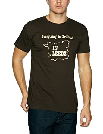 Plastic Head Kaiser Chiefs Everything Is Brilliant Men's T-Shirt Brown XX-Large