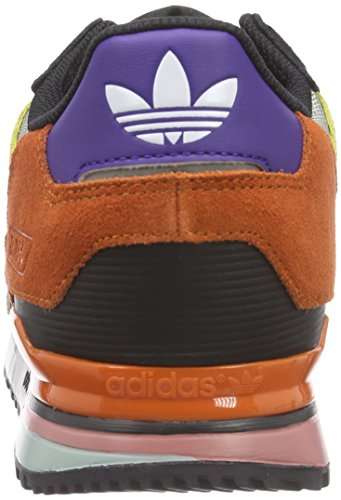 adidas Zx 750, Sneakers Basses homme Noir (core Black/semi Solar Slime/fox Red F14-st)