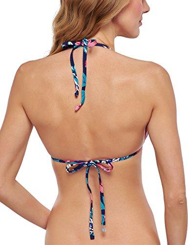 Schiesser Damen Bikinioberteil Bikini Triangel-top Mehrfarbig (multicolor 1 904)