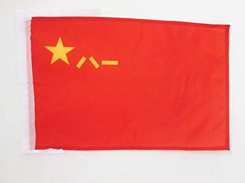 DRAPEAU ARMÉE POPULAIRE DE LIBÉRATION DE LA CHINE 45x30cm - PAVILLON ARMÉE CHINOISE 30 x 45 cm haute qualité - AZ FLAG