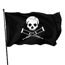 LZHANDA Garten Flaggen Viplili Flagge Fahne, 3x5 Foot Flag TV Series Jackass Flag Vivid Color and UV Fade Resistant with Brass Grommets 3 X 5 Feet 3x5'' Flag